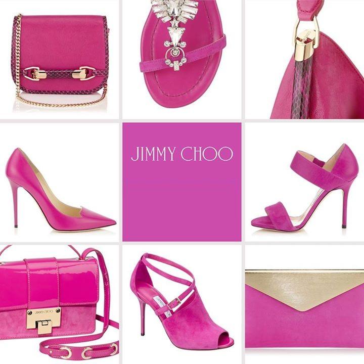 Jimmy Choo Pink Replica Shoes