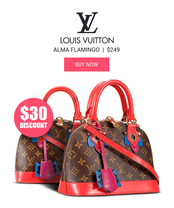 Louis Vuitton Alma Flamingo knockoff
