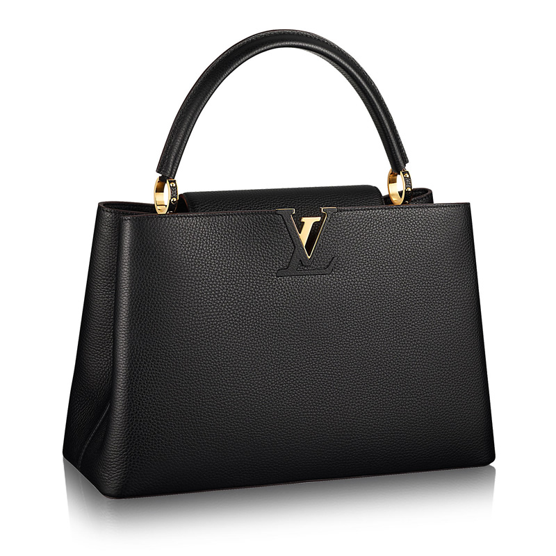 LV Capucines GM Replica Taurillon Leather