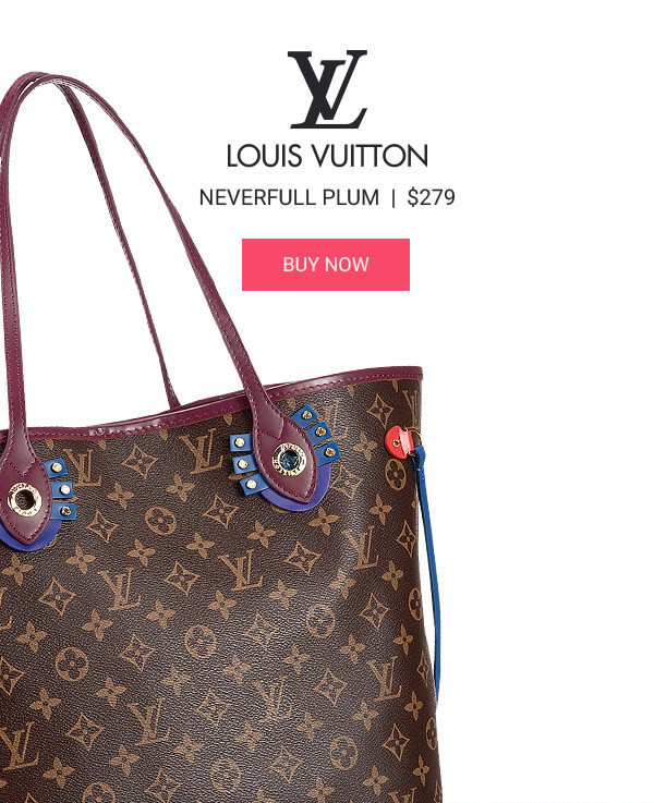 Louis Vuitton Neverfull Plum Fake