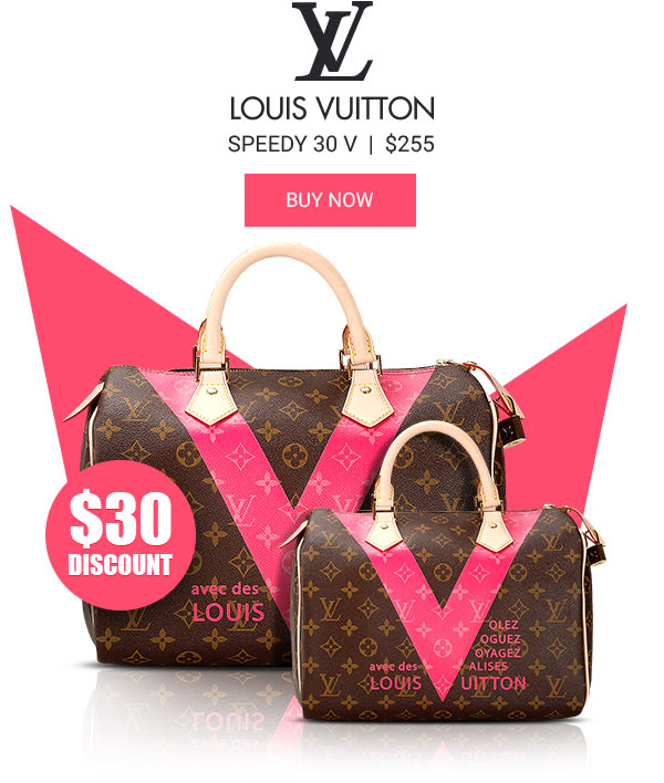 Louis Vuitton Speedy 30 V replica