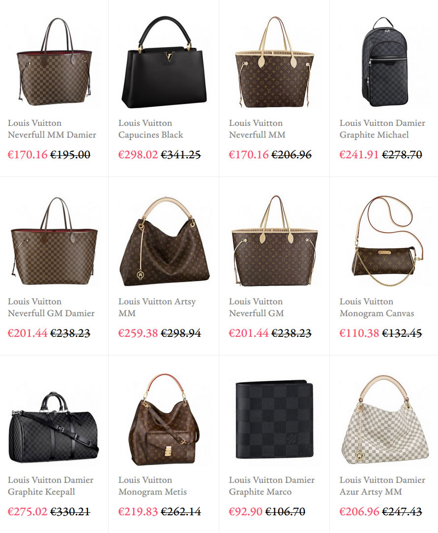 5d3d8c4956434 Discount Louis Vuitton Handbags® Online  LV